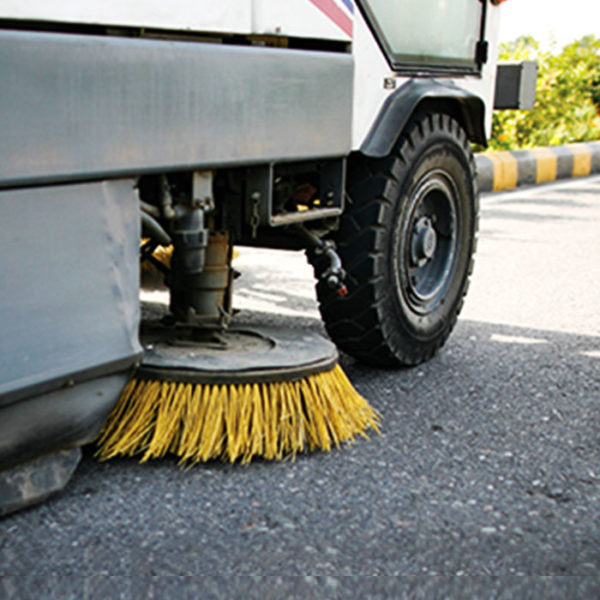 mechanised and manual road sweeping